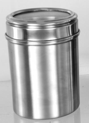 Acrylic Lid Canister 14cm