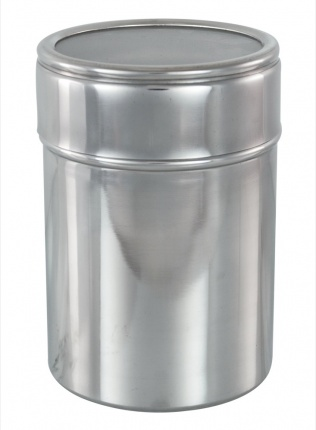 Acrylic Lid Canister with Airtight Seal (Matt Finish)
