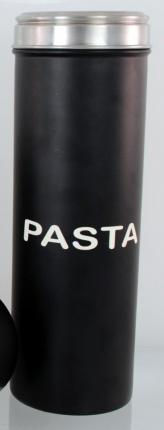 Acrylic Lid Pasta Container 9.5cm Black