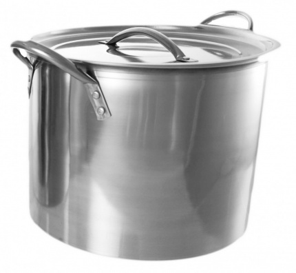 BUCKINGHAM STAINLESS STEEL LARGE STOCK POT / CASSEROLE/ STEW PAN / STOCKPOTS  11 Ltr.