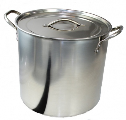 BUCKINGHAM STAINLESS STEEL LARGE STOCK POT / CASSEROLE/ STEW PAN / STOCKPOTS  15 Ltr.