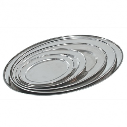 Buckingham Stainless Steel Oval Platter 30cm