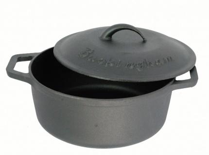 Pre-Seasoned 25cm Cast Iron Round Casserole Dish