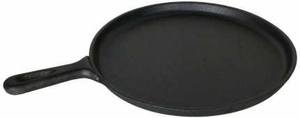 Buckingham Pre-Seasoned Cast Iron Crepe Pan / Griddle 27 cm