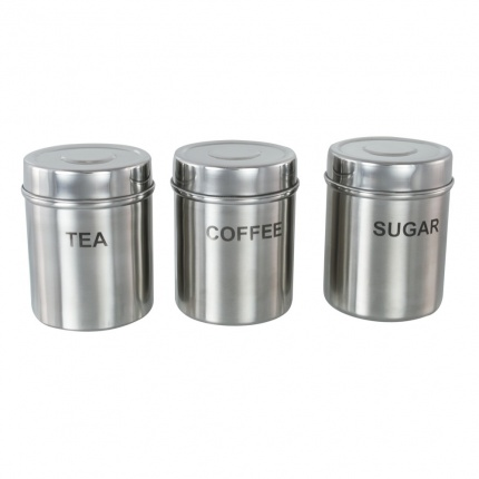 Set of 3 Promotional Canisters (Matt/Mirror Finish)