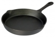 20cm Pre-Seasoned Round Cast Iron Skillet / Frying Pan
