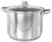 BUCKINGHAM INDUCTION DEEP LARGE STOCK POT STOCKPOT STEW / SOUP POT 13.5 L