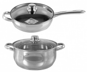 Buckingham Induction Saute Pan & Deep Casserole Set
