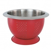 Collar Colander 24cm Red