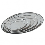 Buckingham Stainless Steel Oval Platter 25cm
