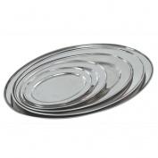 Buckingham Stainless Steel Oval Platter 35cm