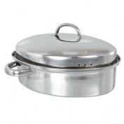 SSH Oval Roaster (32cm) & Cover with Rack