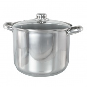 BUCKINGHAM INDUCTION DEEP LARGE STOCK POT STOCKPOT STEW / SOUP POT 9 L
